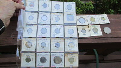 26 South Central America Amercian Coins 1924-1980 Various Countries F50