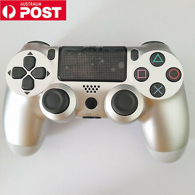 NEW Playstation 4 v2 Controller DualShock - Silver Wireless Controller for PS4