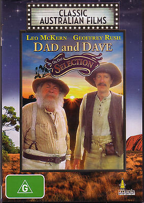 Dad And Dave - On Our Selection ( Classic Australian Films ) New And Sealed