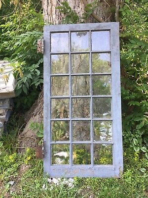 Vintage Sash Wood Window, 48x24,18 pane, from 1920's home, 12 available!!!