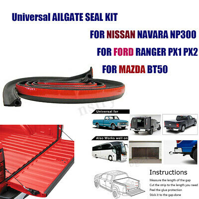 3M Universal TAILGATE SEAL KIT FOR TOYOTA HILUX SR5 SR RUBBER UTE DUST TAIL GATE