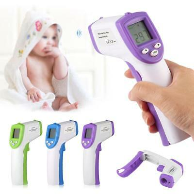 Digital Non-contact IR Infrared Thermometer Forehead Body Temperature Meter WT