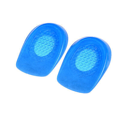 2X Silicon Gel-Heels Cushions Insoles Soles Spurs Supports Shoe Pads Feet Ca UK