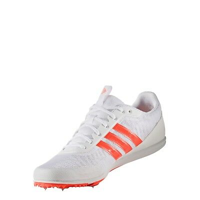 new style bc14b 1960d adidas Distancestar Mens Running Track Field Shoes Spikes 5753 White UK Size  8