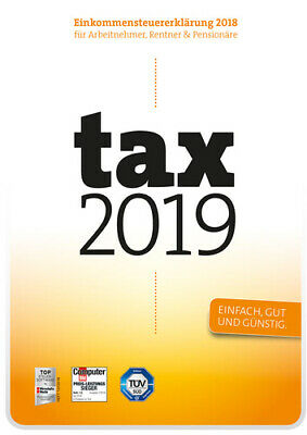 Tax 2019 (für Steuerjahr 2018) ESD Download PC Windows