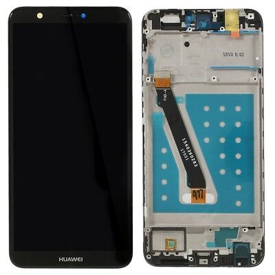 Huawei P Smart FIG-LX1 Touch Screen Digitizer LCD Display Assembly Frame Black