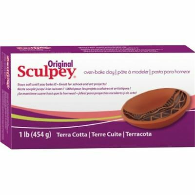 Sculpey Original Polymer Clay 1lb-terra Cotta