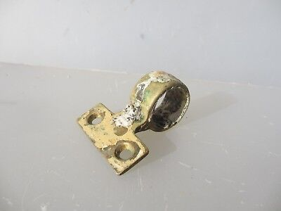 Vintage Brass Sash Window Handles Pull Lift Antique Victorian Old Pole Tie