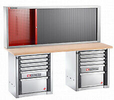 Facom 2000.Bbm160A Set Cm.160A With Workbench 2000.Bb1 And Cabinet 2210