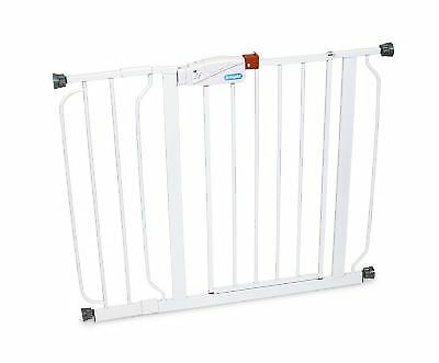 "New Regalo Easy Step Walk Through Baby White 38.5"" Safety Gate"