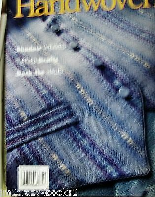 Handwoven Magazine 1998 Sept/Oct SHADOW WEAVE BLOCK RIB COLOR + WEAVE Projects