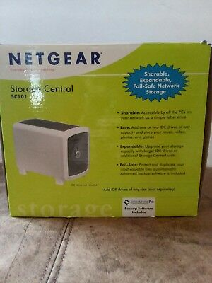 arrives 46d40 72d32 Netgear Storage Central SC101 Supports 2 Drives
