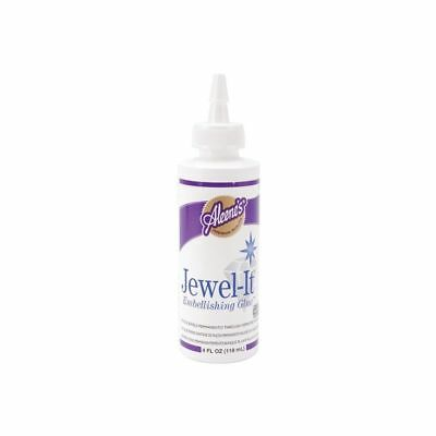 Aleene's 15631 Jewel-it Embellishing Glue 4oz - Aleenes Jewel 118ml Jewelit Glue
