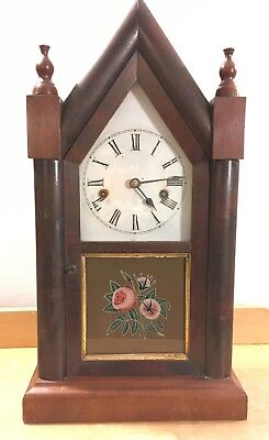 Antique Mantel Clock, 19th Century , Ansonia 30 Hour with Key.