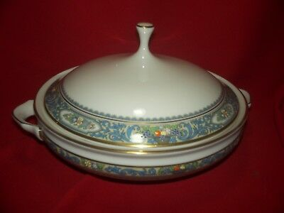 Lenox China Autumn Round Covered Vegetable Bowl with Lid