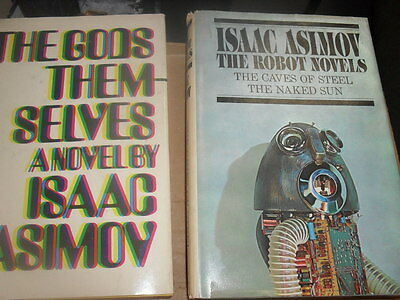 Isaac Asimov Science Fiction Classic Novels. 3 Books / 6 Novels