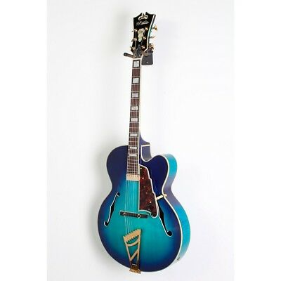 D'Angelico EXL-1 Hollowbody Guitar w/ Stairstep Tailpiece Blue Burst 19839101716