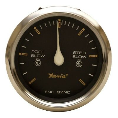 FARIA BOAT ENGINE Synchronizer Gauge SY9758A | Signature ... on