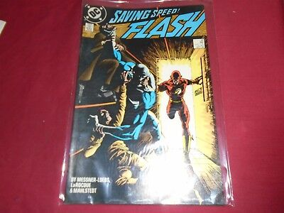 THE FLASH #16 Wally West - DC Comics (2nd Series 1988) VF/NM