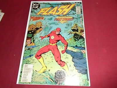 THE FLASH #21 Wally West - DC Comics (2nd Series 1988) VF/NM