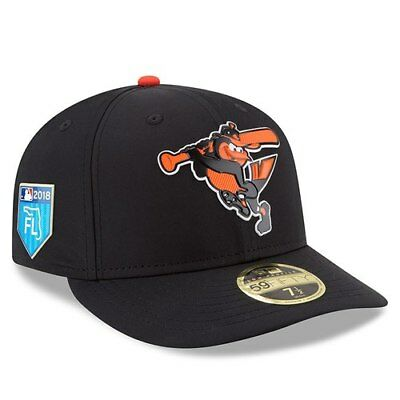 New Era Baltimore Orioles Black 2018 Spring Training Collection Prolight Low b320738945e9