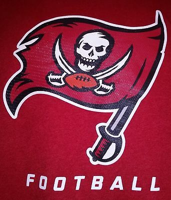 NFL Tampa Bay BUCCANEERS Red Nike Dri-FIT On Field Practice Training Shirt  LARGE 880ef2dac