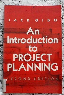 An Introduction to Project Planning by Jack Gido 1985 2nd edition