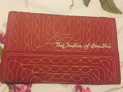 Rare India of Gandhi Booklet