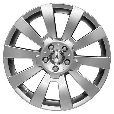 17 X 7 5 5 Spoke Refurbished Oem Mercedes Alloy Wheel Sparkle