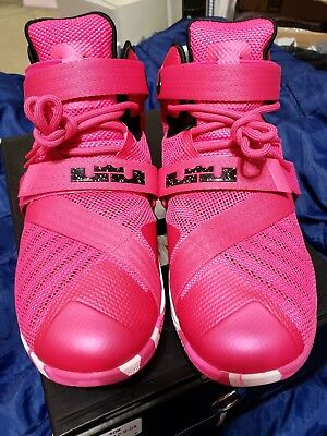 new styles 00866 317f6 749417-601) NIKE ZOOM Soldier 9 IX Pink Breast Cancer Men's ...