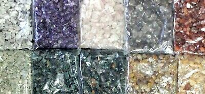 10g- 50g Natural Gemstone Chips Crystal Stone Tumbled Wicca Chakra Jewelry Craft