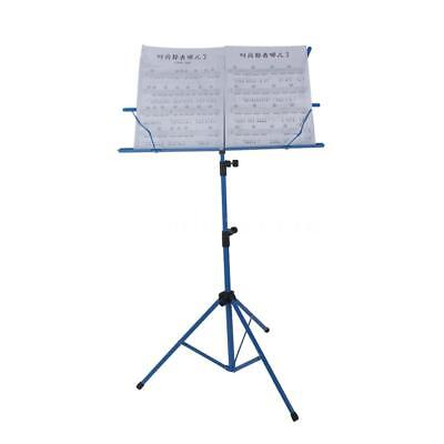 Adjustable Music Metal Stand Holder Folding Foldable + Waterproof Carry Bag G4O4