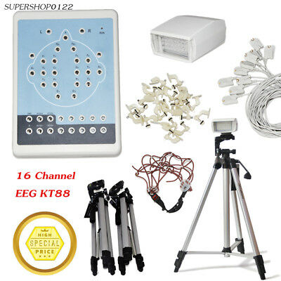 KT88 Digital Brain Electric Activity Mapping 16 channel EEG signal electrodes