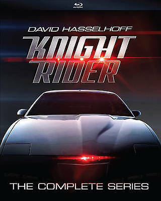 Knight Rider - The Complete Series [Blu-ray] David Hasselhoff The Hoff