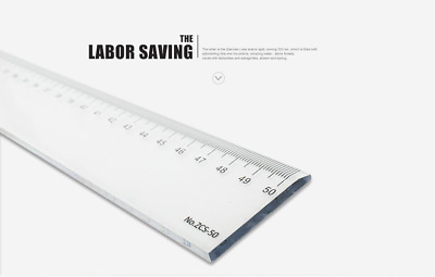 """3 X Clear Plastic Ruler 30cm Same Day Dispatch 12/"""" shatter resistant"""