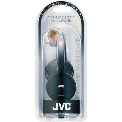 NEW JVC Lightweight Foldable Headphones for Smartphones Tablets MP3 PC & Laptop