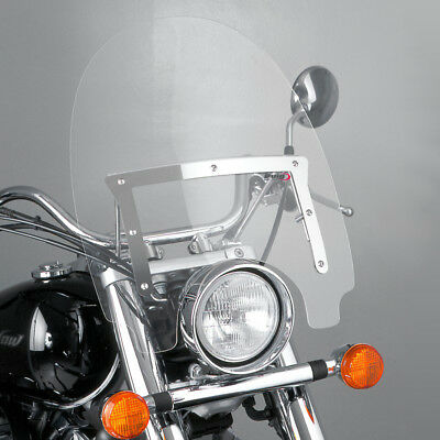 Puig Windschild Custom Highway Kawasaki En 500 2003 Klar