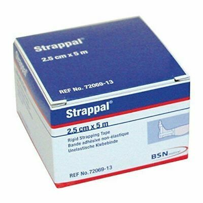 BSN Medical Strappal Zinc Oxide Strong Sports Support Tape, .  x  m
