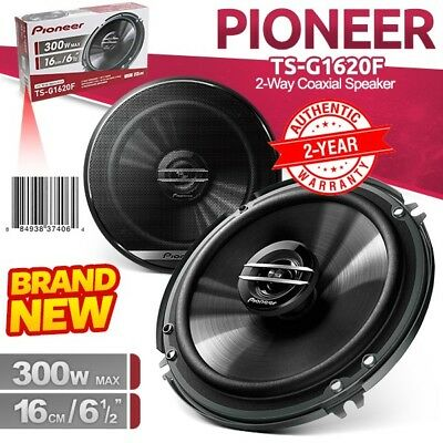 "(Pair)New PIONEER TS-G1620F 6.5"" 16cm 300W 2-Way Car Audio Coaxial Speaker"