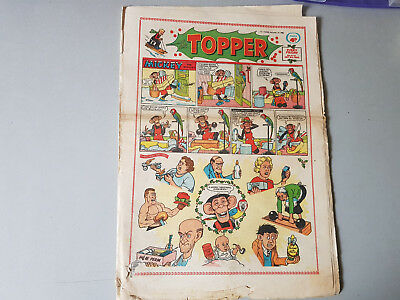 THE TOPPER COMIC No. 412 from 1960 - Christmas