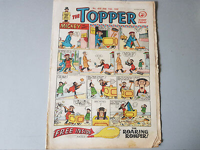 THE TOPPER COMIC No. 419 from 1961 -