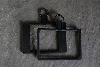 """Sachtler Ace Mattebox spare filter frames x 2 - for 4x4"""" and 4x5.65"""" filters"""