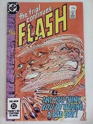 THE FLASH #341 - 1984 - DC Comics - VERY GOOD CONDITION - VINTAGE