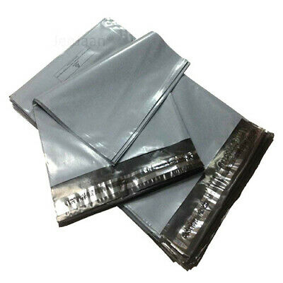 1000 MIXED MAILING BAGS GREY PARCEL PACKAGING 6x9 9x12 10x14 12x16 free Delivery