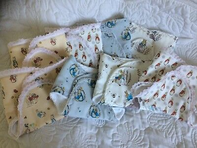 c43d590874 REBORN BABY SILICONE Doll Peter Rabbit Nappy Terry Towling - £10.00 ...