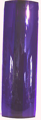 light lens sleeper light ridged purple plastic for Peterbilt bunk 18-3/4 long EA