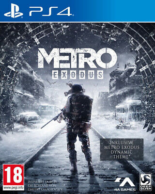 Metro Exodus Day One Edition + Theme  (PS4)