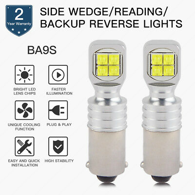 Bevinsee BA9S T4W 1445 1895 LED Instrument Panel Light Bulb For Chevy Chevelle