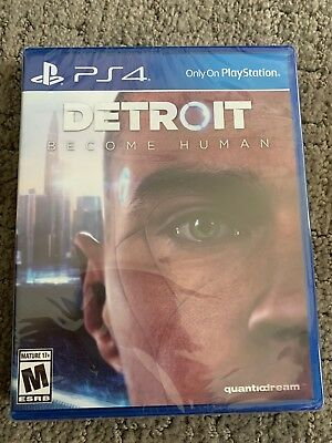 Detroit: Become Human for PlayStation 4 - BRAND NEW & FACTORY SEALED - PS4