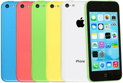 "Apple Iphone 5c 8GB 16GB 32GB LTE iOS Smartphone 4"" Retina Display 8 Megapixel"